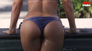 Rosanna Arkle's BRAND NEW pool shoot - exclusively at ZOOTUBE! | Rosanna Arkle