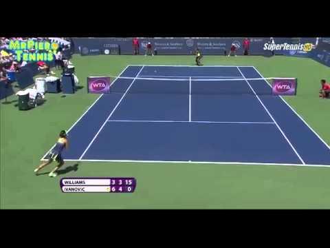 Ana Ivanovic - Serena Williams WTA Cincinnati 2015 QF