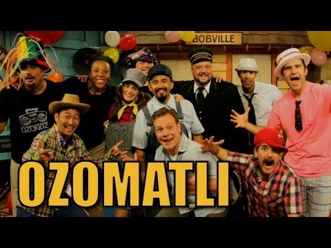 "Ozomatli Performs ""Balloon Fest"" on The Choo Choo Bob Show!"