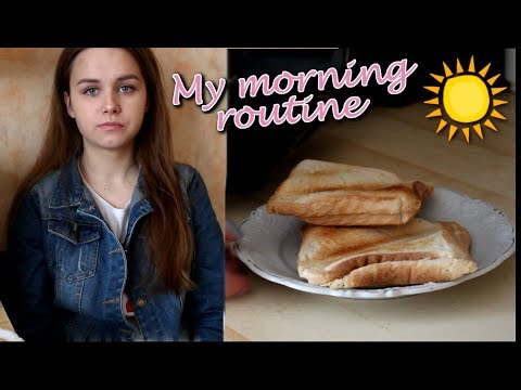 My Morning Routine For School! |Kasia