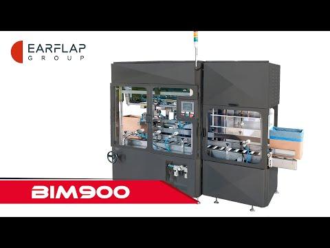 INSERTADORA AUTOMÁTICA DE BOLSAS DE INSERCIÓN DIRECTA // EAR-FLAP® BIM900