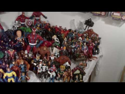Marvel Legends Collection Display Part 2