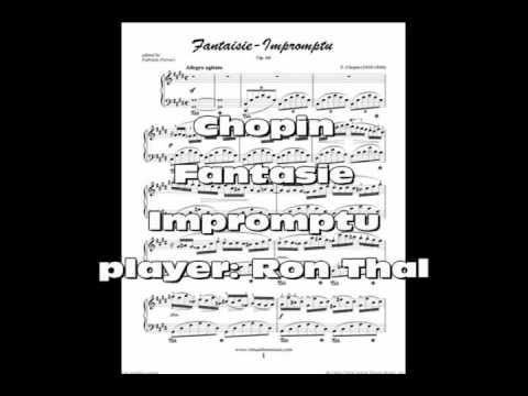 Fantasie Impromptu by Ron Thal
