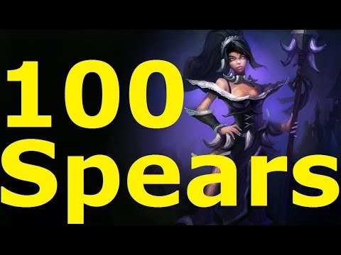 [LoL] Nidalee 100 SPEARS