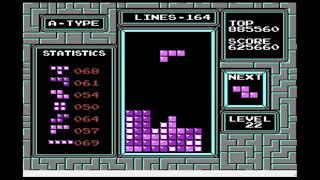 TETRIS NES NTSC emulator max out