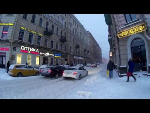 Санкт-Петербург. Сенная площадь 08.11.2016 г. утро. Снег.