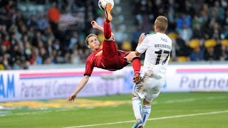 Morten Nordstrand amazing bicycle kick