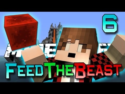 Minecraft: Feed The Beast Ep. 6 - Power On, Redstone Sterling Engine! (Modded Survival Series)