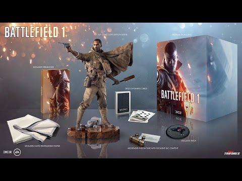 Распаковка Battlefield 1 Коллекционное Издание