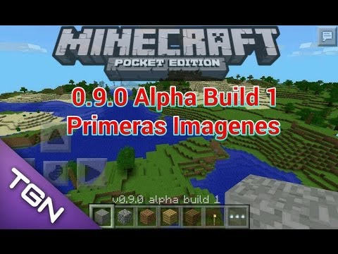 Noti-Flash•Primeras Imagenes Minecraft Pe 0.9.0 Build 1•