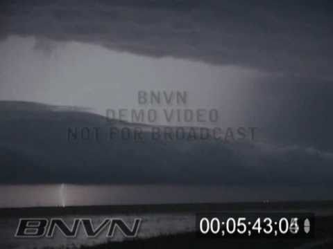 Various Lightning Footage showing Cloud to Cloud and Cloud to Ground lightning bolts