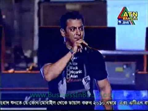 Bollywood star Salman Khan in DHAKA Bangladesh