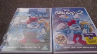 The Smurfs And The Smurfs 2 (UK) DVD Unboxing