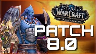 PREPATCH IS HERE! BfA 8.0 Out NOW! | GOOD EVENING AZEROTH | World of Warcraft