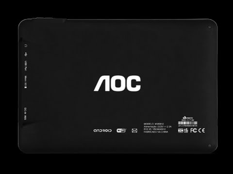 Hard Reset Tablet Breeze AOC MW0812