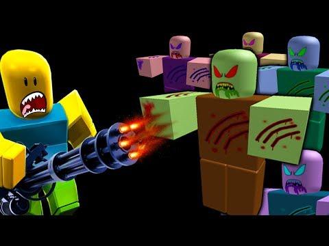 Сумасшедшие ЗОМБИ #3 Приключения мультик героя ROBLOX против армии зомби видео для детей