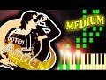 BASSHUNTER - BOTEN ANNA - Piano Tutorial MP3