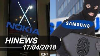 Samsung ăn cắp công nghệ cảm biến vân tay? Nokia X sắp hồi sinh |Hinews