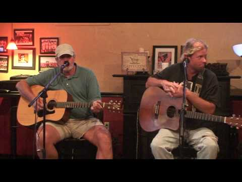 Travis Wammack and Tony T-Bone Montgomery at the Trojan House in Muscle Shoals