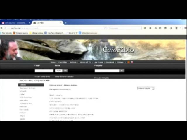 Uma recomendação a você: Conheça o site caiofabio.net  Aproveite!