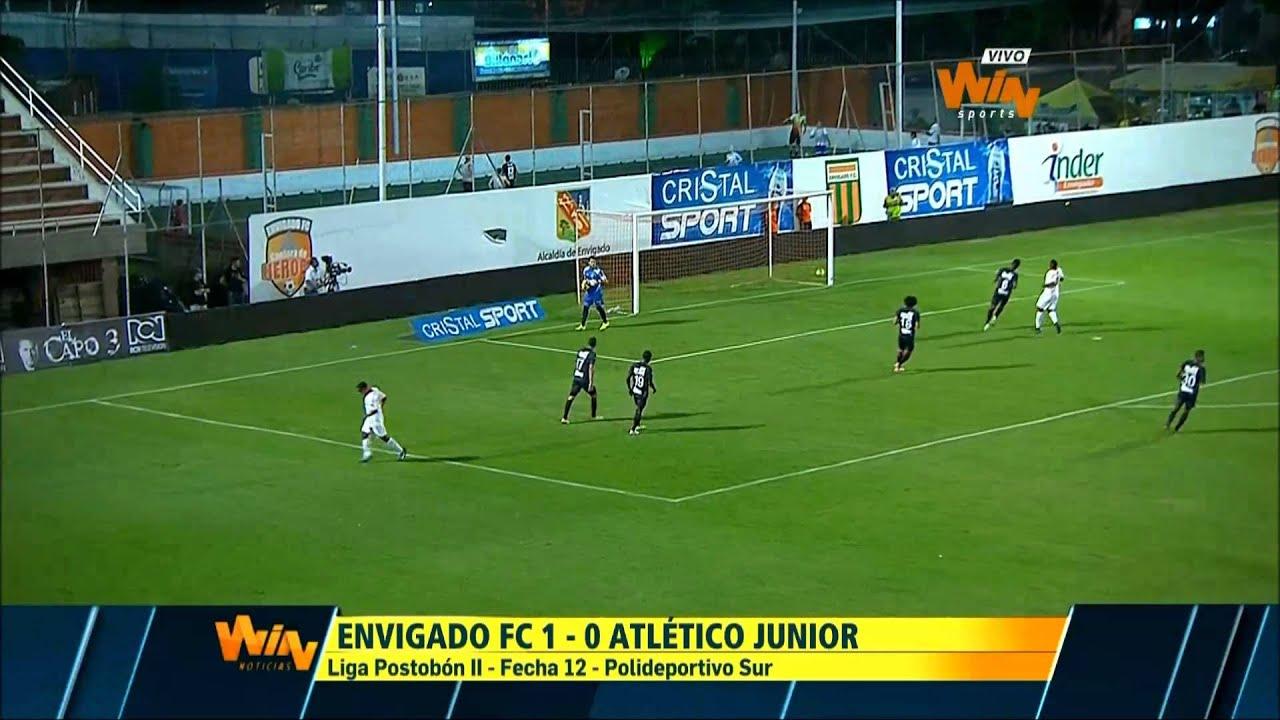 Envigado FC 1-0 Atletico Junior Barranquilla