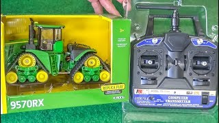 RC tractor John Deere gets unboxed and hard tested for the first time!