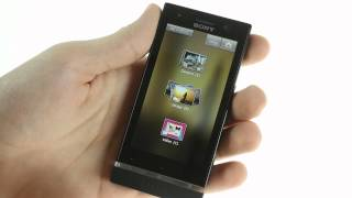 Sony Xperia U user interface demo