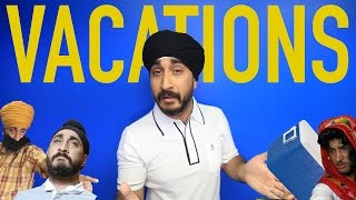Jus Reign | Desi Parents and VACATIONS