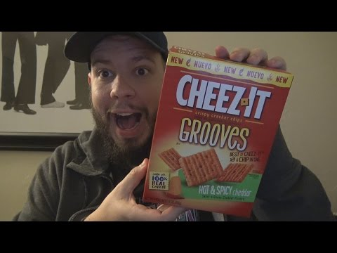 WE Shorts - Cheez-It Grooves Hot & Spicy Cheddar