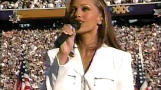 Superbowl 30 - Anthem- Vanessa Williams (flyover from Shaw AFB)