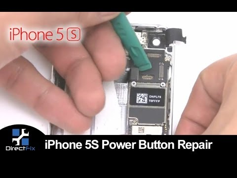 How To: Replace iPhone 5S Power Button, Volume & Silent Buttons | DirectFix.com
