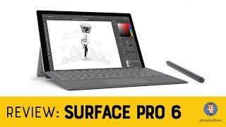 Surface Pro 6 - An Artist's review