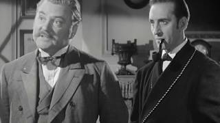The Adventures of Sherlock Holmes (1939) | Starring Basil Rathbone & Nigel Bruce | HD