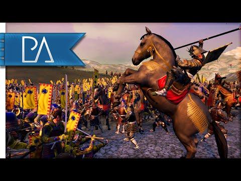 BATTLE OF AGGRESSION - Total War: Shogun 2 Gameplay