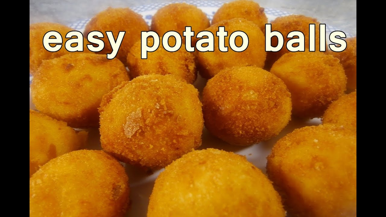 FRIED POTATO BALLS - Tasty and Easy Food Recipes