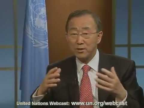 Live global conversation with the UN Secretary-General on Social Media