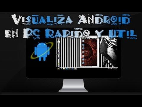 Visualizar Android en Pc (Computadora) con Droid Explorer por MiSoTa94