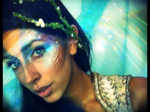 $25 Mermaid Makeup Challenge Halloween Makeup
