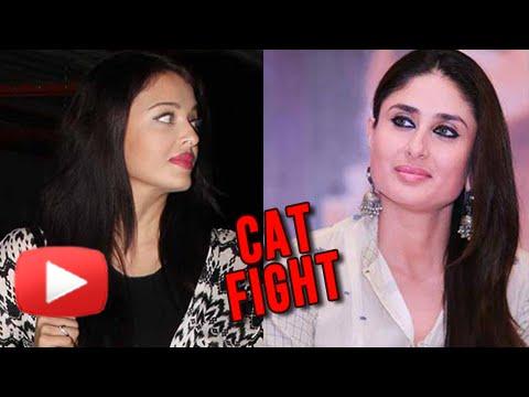 PREGNANT Kareena Kapoor DISSES Aishwarya Rai - CATFIGHT