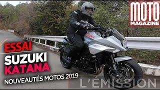 SUZUKI KATANA 2019  - Fine lame japonaise - Essai Moto Magazine
