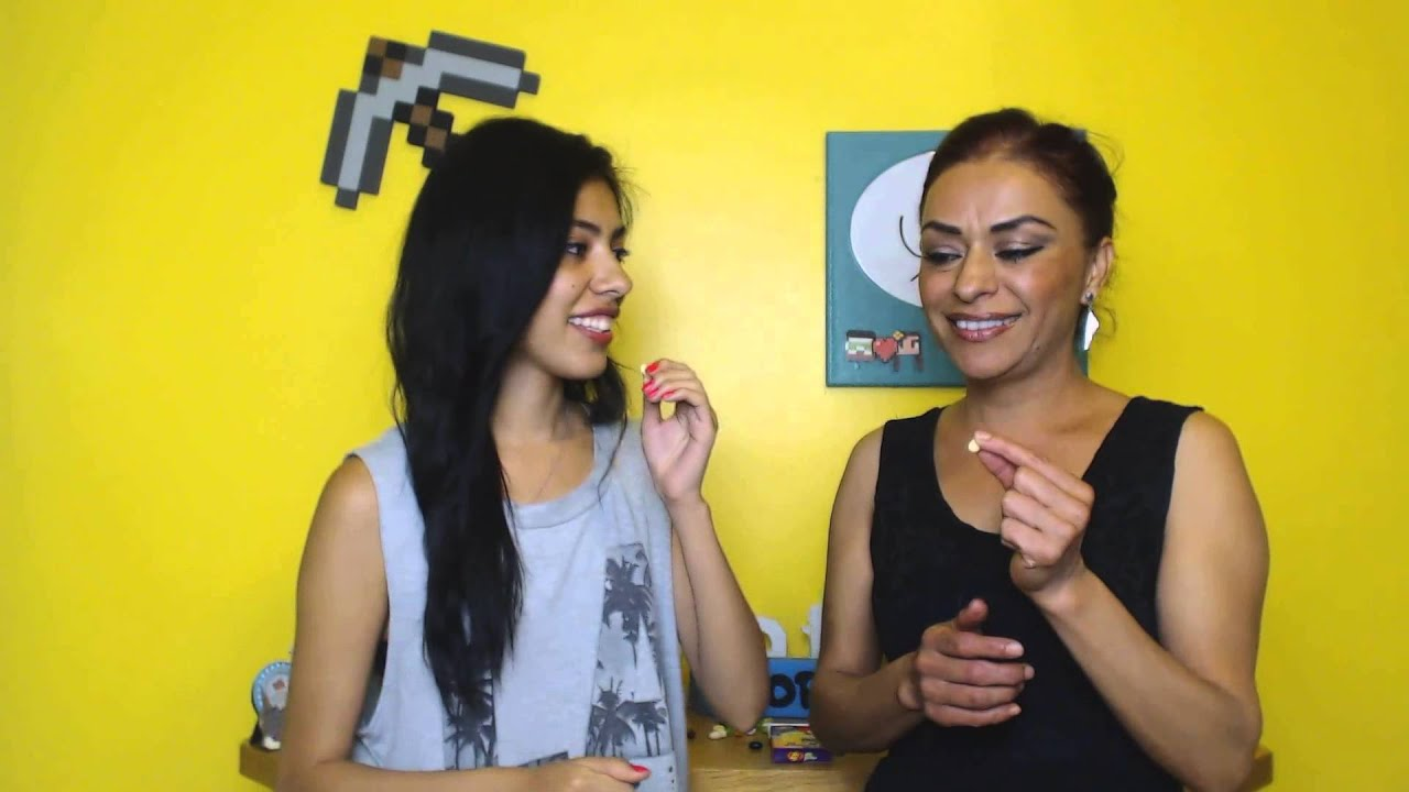 Jelly Bean Challenge With My Mom Youtube