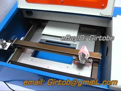 CO2 LASER ENGRAVING CNC ROUTER SUPPORT USB