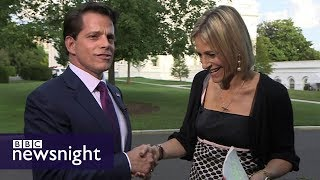 Anthony Scaramucci: Interview with Trump