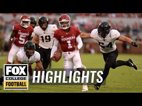 Oklahoma vs. Army | FOX COLLEGE FOOTBALL HIGHLIGHTS