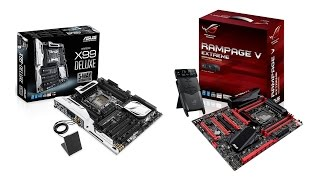 Asus X99 Deluxe ve Rampage V Extreme İncelemesi