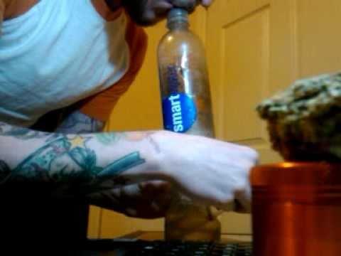 Smart Water Bottle Bong Meets Smart Water Bong