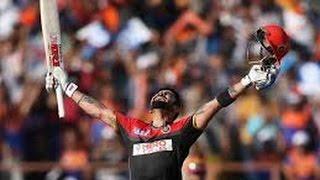Virat Kohli 1st Century in IPL 100* of 63 Balls