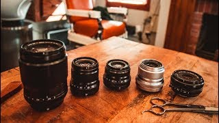 WHICH FUJI LENSES TO BUY FIRST