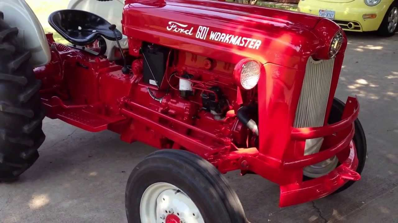 Ford 601 Diesel : Ford workmaster youtube