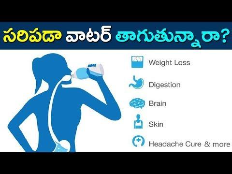 మీ శరీరానికి సరిపడా వాటర్ తాగుతున్నారా? | Are You Drinking Sufficient Water? | Mana Aksharam